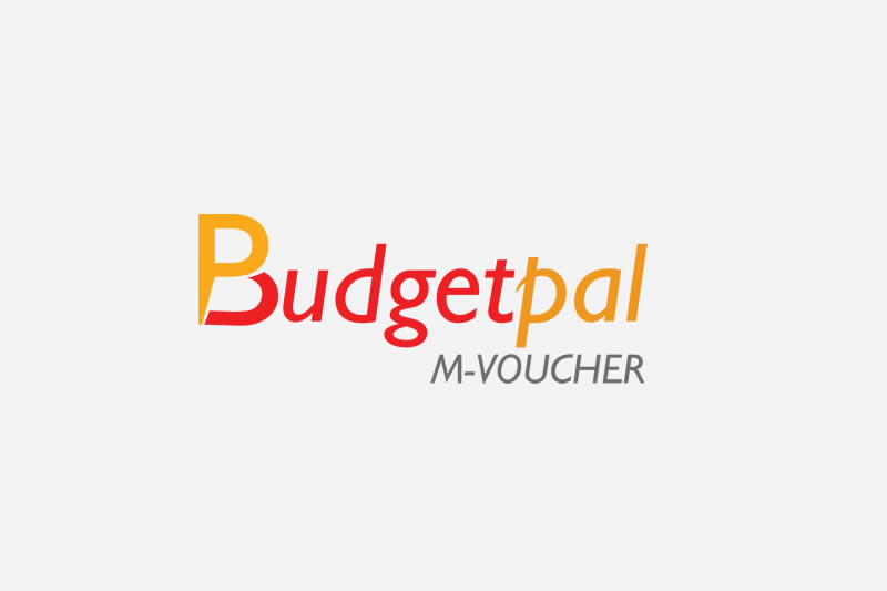 Budget pal logo design